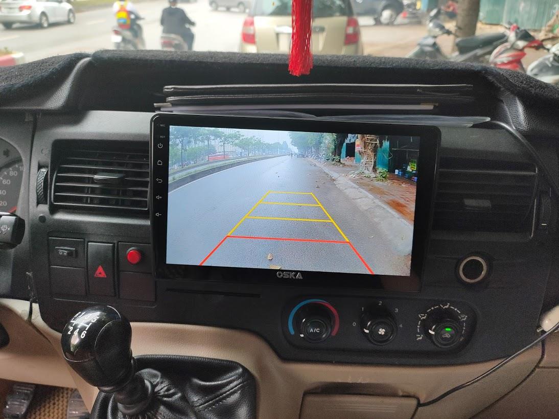 màn hình android ford transit
