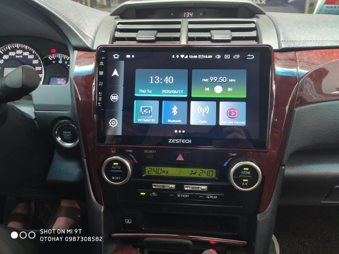 màn hình android ô tô zestech