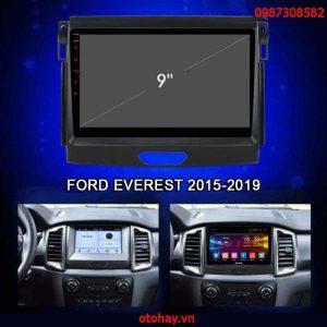 MÀN HÌNH ANDROID 4G XE FORD EVEREST 2015-2019