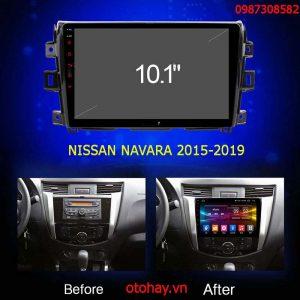 MÀN HÌNH ANDROID NISAN NAVARA 2015-2019