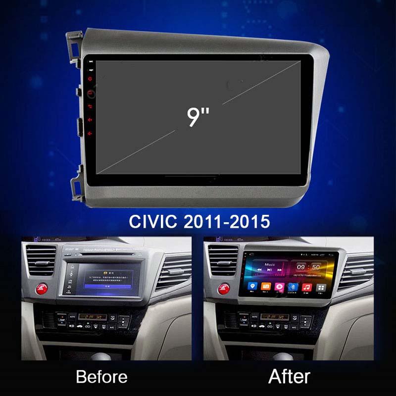 MÀN HÌNH DVD ANDROID 4G XE HONDA CIVIC 2011-2015