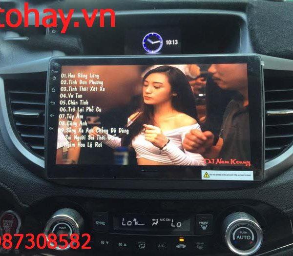 MÀN HÌNH DVD ANDROID 4G XE HONDA CRV 2012-2016