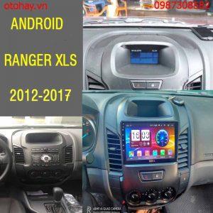 MÀN HÌNH ANDROID FORD RANGER XLS 2012,2013,2014,2015,2016