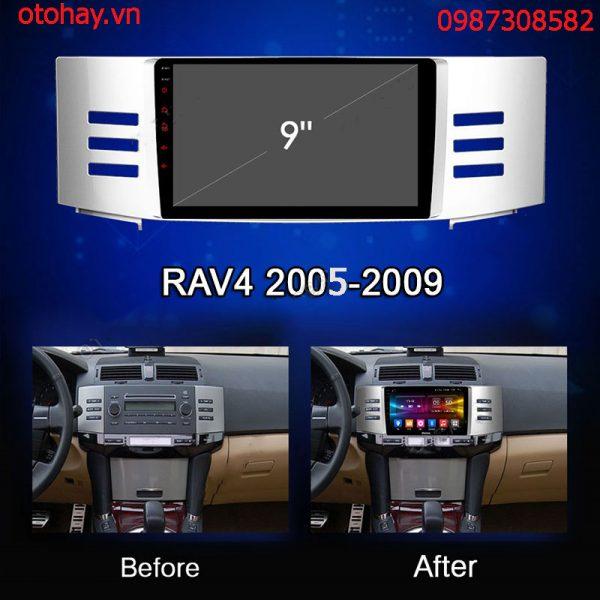 ĐẦU MÀN HÌNH ANDROID 4G XE TOYOTA REIZ 2005-2009-otohay