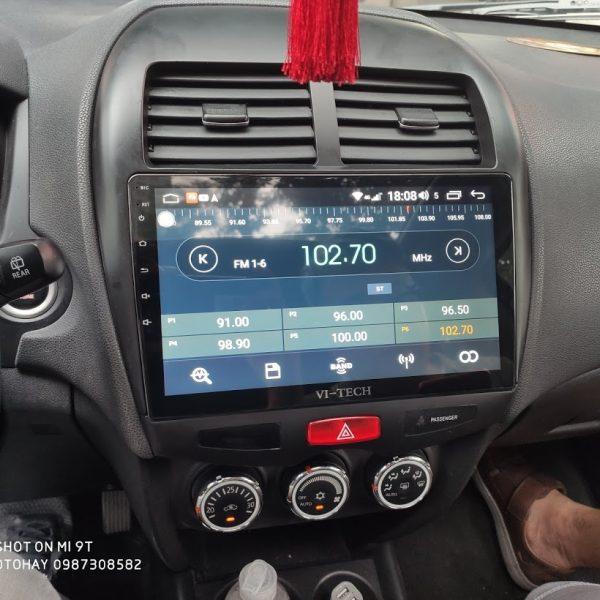 Màn Hình Android Xe Outlander Sport 2011,2012,2013,2014,2015