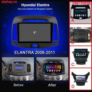 MÀN HÌNH ANDROID 4G XE HUYNDAI ELANTRA 2006-2011