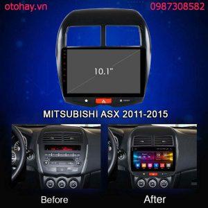 MÀN HÌNH ANDROID 4G XE MITSUBISHI ASX 2011-2015