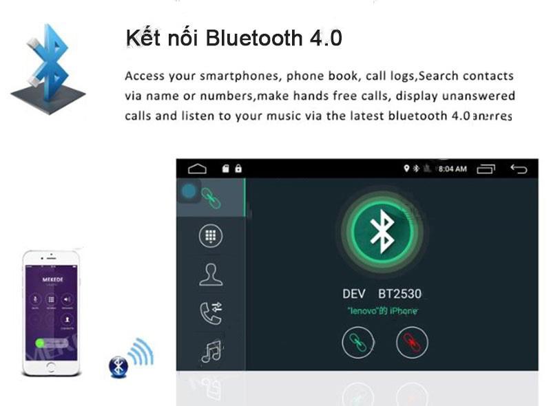 bluetooth 4.0 ĐẦU MÀN HÌNH ANDROID 4G