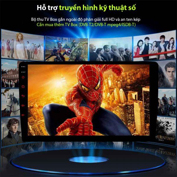 hỗ trợ truyền hình kỹ thuật số ĐẦU MÀN HÌNH ANDROID 4G