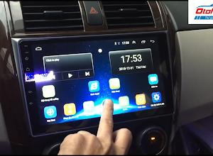 màn hình android xe altis 2008-2013