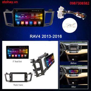 ĐẦU DVD ANDROID XE TOYOTA RAV4 2013-2017