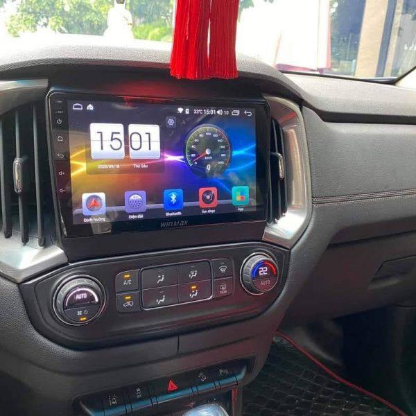 màn hình android xe colorado