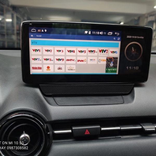 Màn Hình Android Mazda 2 2015-2016-2017-2019-2020 - 10,25inch