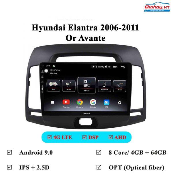 Màn Hình Android Huyndai Avante 2006-2011
