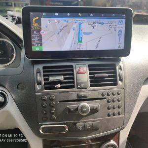 Màn Hình Android Xe Mercedes C300 2007,2008,2009,2010