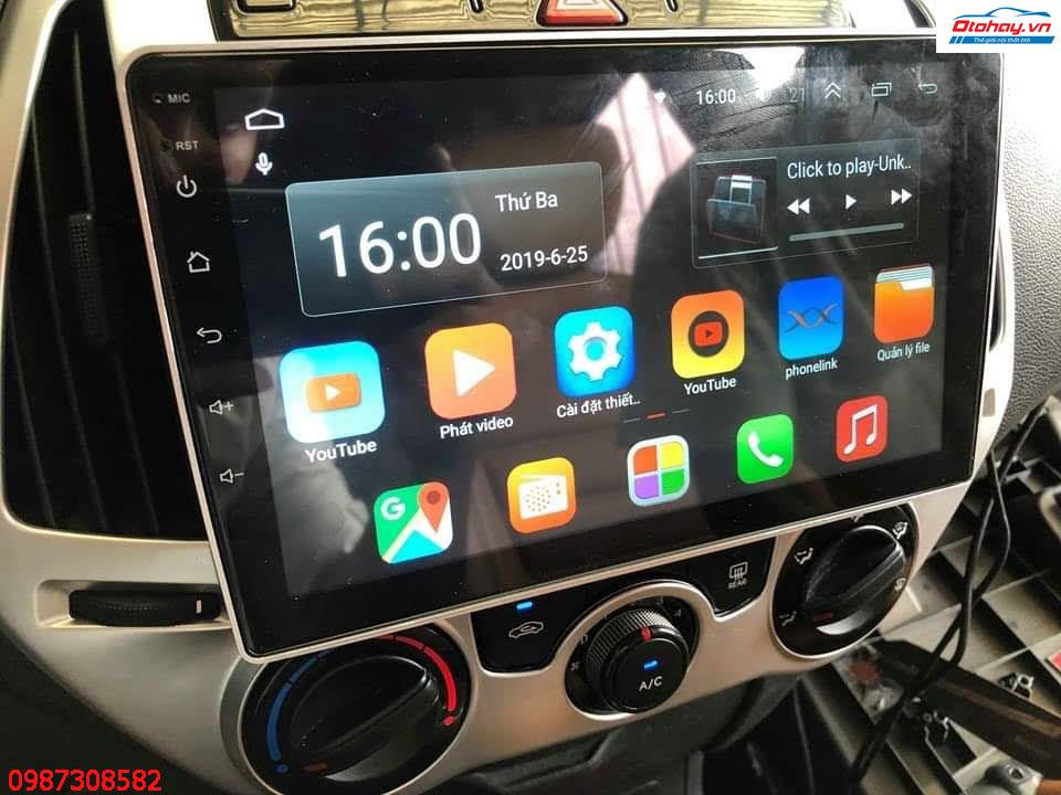 Màn Hình Android Huyndai I20 2007,2008,2009,2010,2011,2012,2013