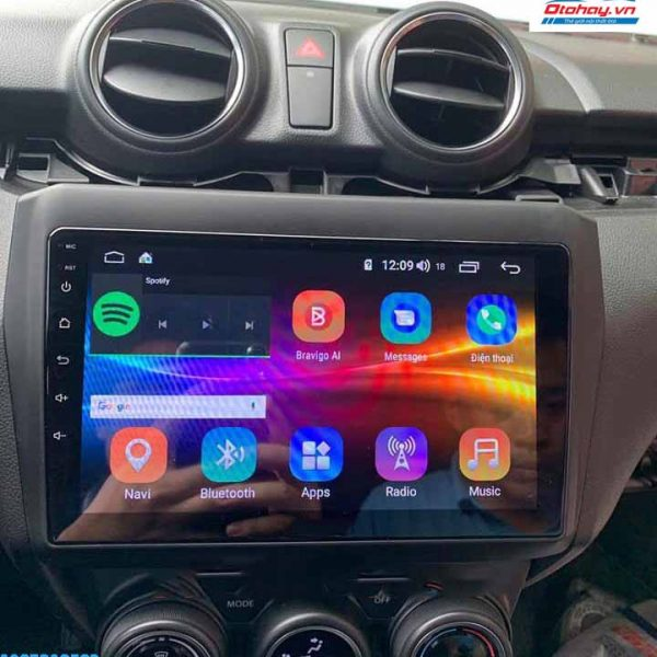 Màn Hình Android Suzuki Swift 2018-2020