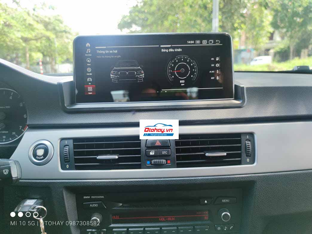 Màn Hình Android BMW 320i E90 2005-2011