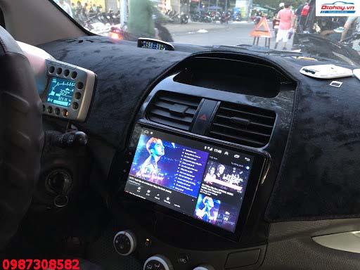 Màn Hình Android Xe Chevrolet Spark 2010,2012,2013,2014