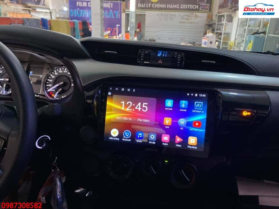 Màn Hình Android Xe Hilux 2021